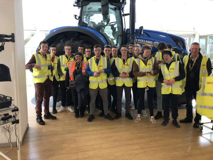 Visite de New Holland